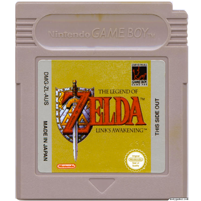 Cartouche du jeu The Legend of Zelda sur Gameboy