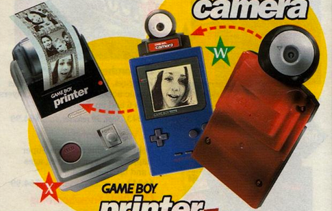 Camera et imprimante Game Boy
