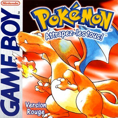 Jeu Pokemon version rouge